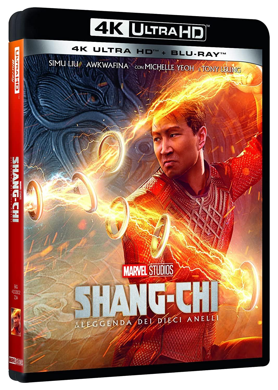 SHANG-CHI E LA LEGGENDA DEI DIECI ANELLI (4K ULTRA HD + BLU-RAY