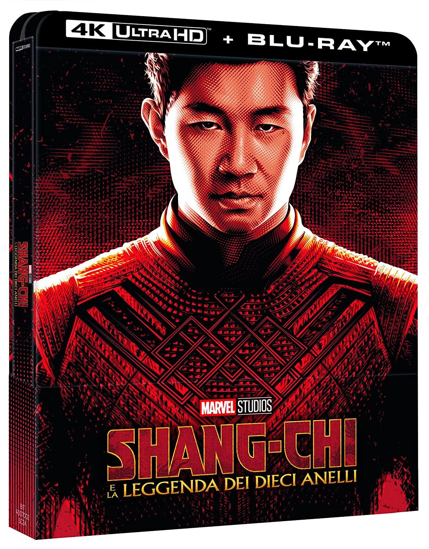 SHANG-CHI E LA LEGGENDA DEI DIECI ANELLI (STEELBOOK 4K ULTRA HD