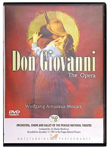 WOLFGANG AMADEUS MOZART - DON GIOVANNI (DVD)