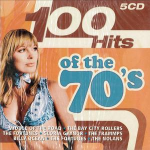 100 HITS OF THE 70'S -5CD (CD)