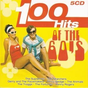 100 HITS OF THE 60'S -5CD (CD)