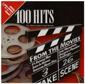 100 HITS FROM THE MOVIES COLONNA SONORA, IMPORT (CD)