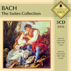 BACH: THE SUITES COLLECTION -5CD (CD)