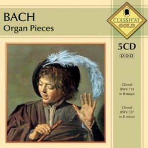 BACH: ORGAN PIECES -5CD (CD)