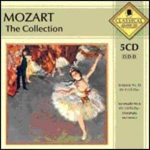 MOZART THE COLLECTION -5CD (CD)