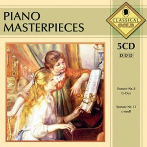 PIANO MASTERPIECES -5CD (CD)