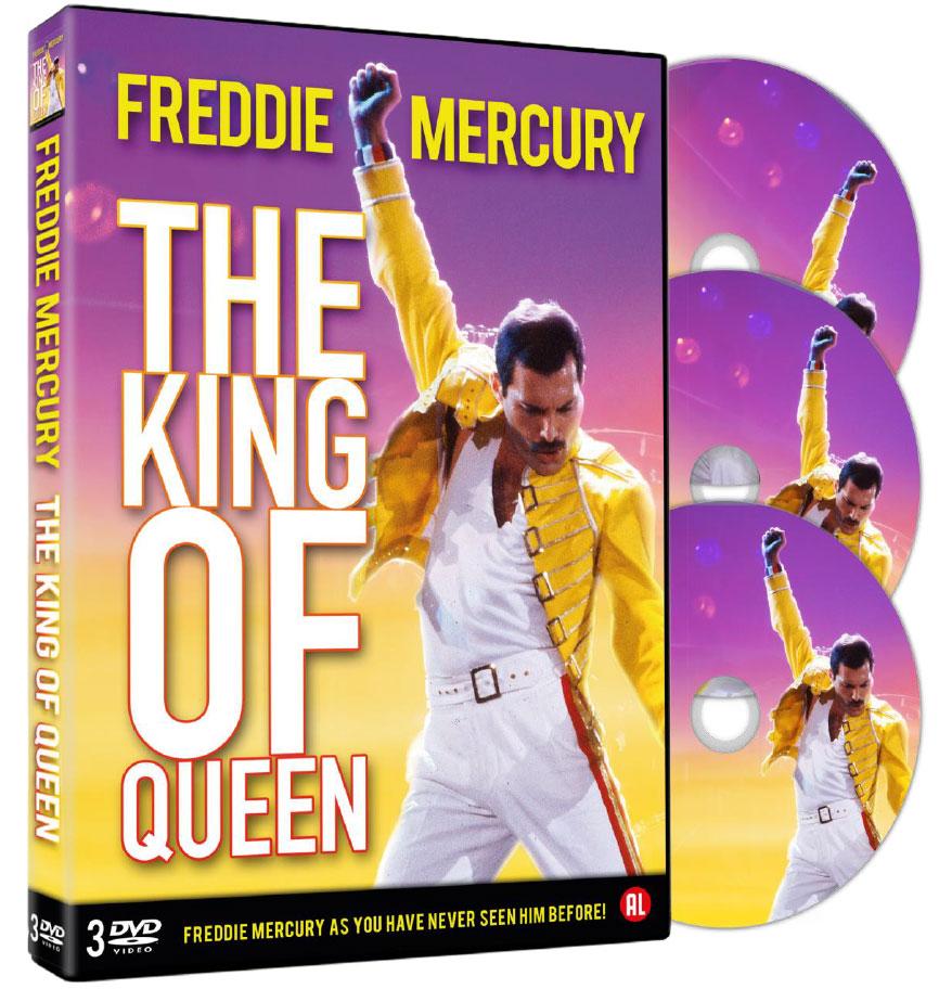 COF.FREDDIE MERCURY - THE KING OF QUEEN (3 DVD) (DVD)