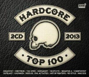 HADCORE TOP 100-2013 -2CD (CD)