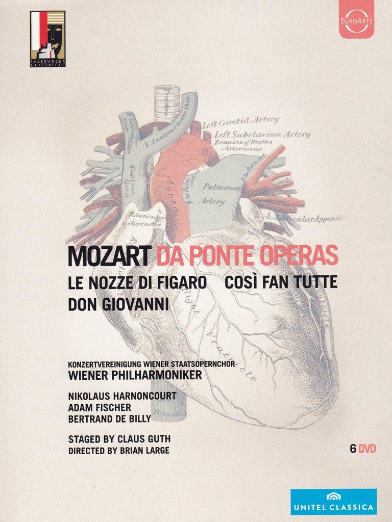COF.DA PONTE OPERAS (6 DVD) (DVD)