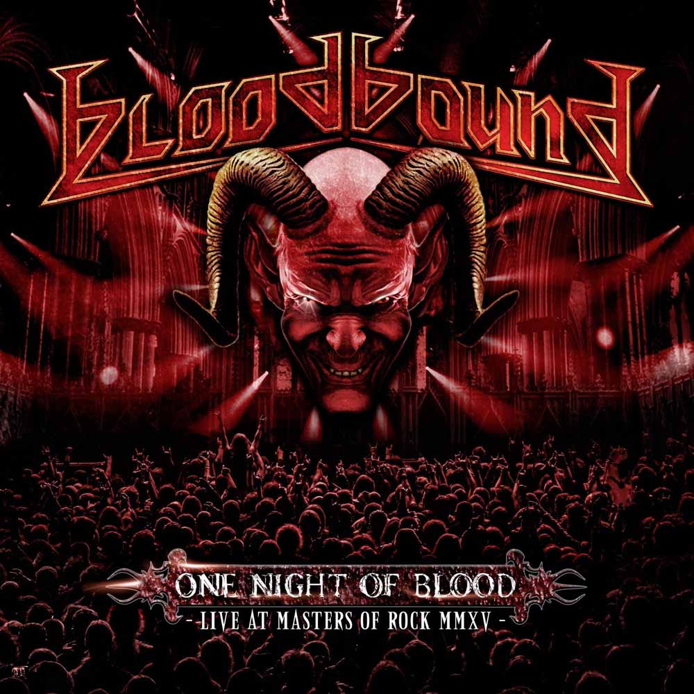 BLOODBOUND - ONE NIGHT OF BLOOD (CD+DVD) (CD)