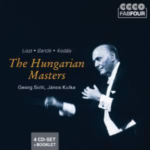 THE HUNGARIAN MASTERS COFANETTO -4CD (CD)