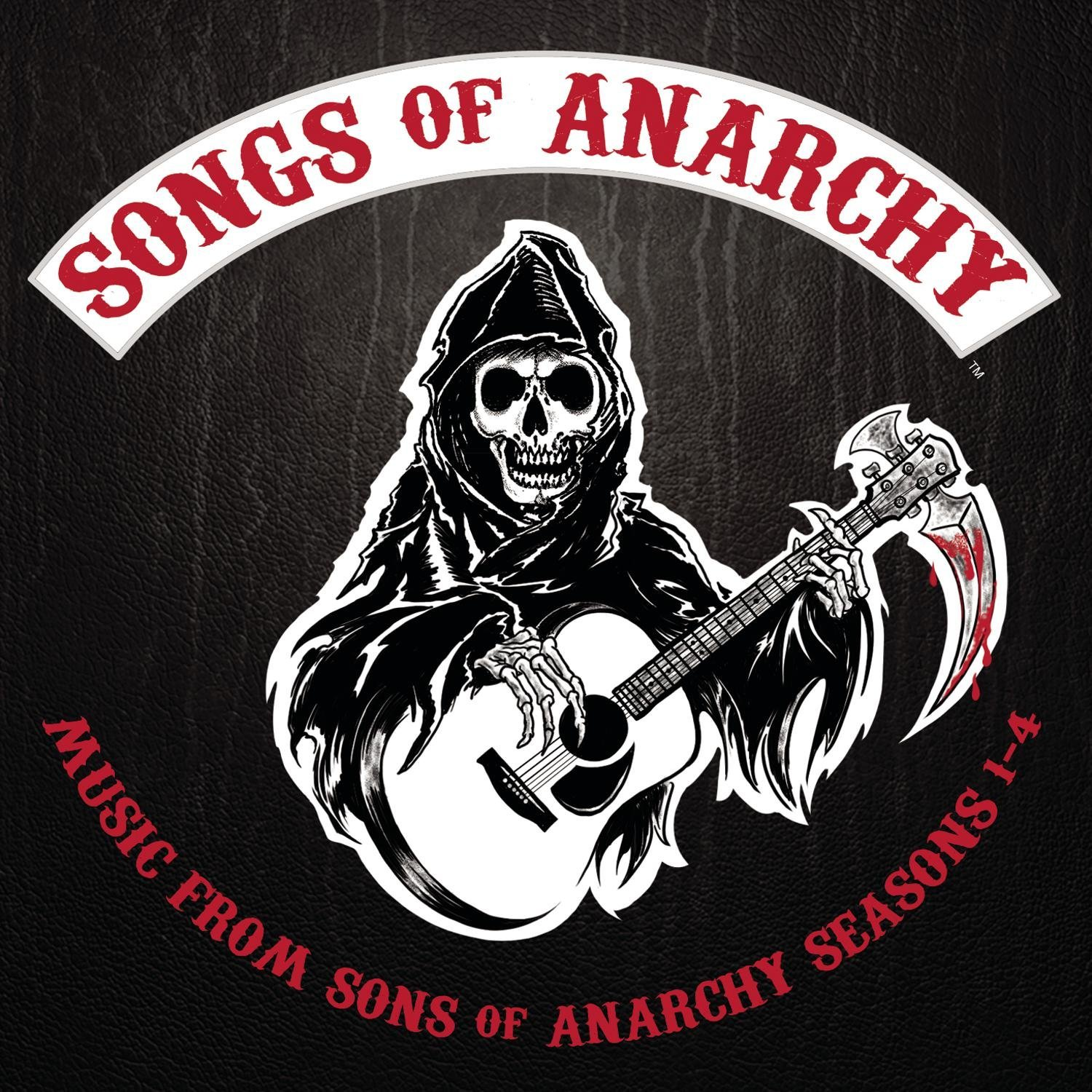 SONGS OF ANARCHY MUSIC FROM... 1-4 (CD)