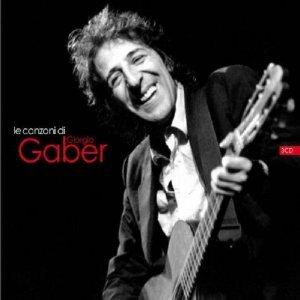 GIORGIO GABER - LE CANZONI DI GIORGIO GABER -3CD (CD)