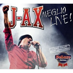 J-AX - MEGLIO LIVE! -(DELUXE EDITION) -2CD+DVD (CD)
