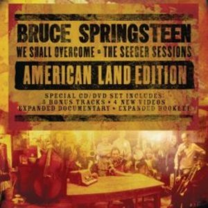 BRUCE SPRINGSTEEN - WE SHALL OVERCOME CD+DVD THE SEEGER SESSION