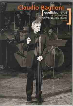 CLAUDIO BAGLIONI - QUELLI DEGLI ALTRI (2 DVD) (DVD)