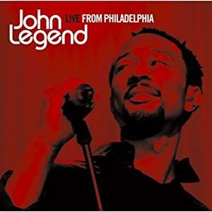 JOHN LEGEND - LIVE FROM PHILADELPHIA (CD)