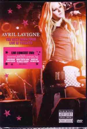 AVRIL LAVIGNE - THE BEST DAMN THING LIVE DVD (DVD)