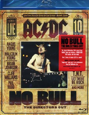 AC/DC NO BULL - THE DIRECTOR'S CUT BLU-RAY DVD