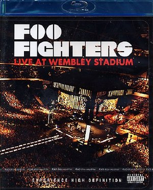 FOO FIGHTERS LIVE AT WEMBLEY SADIUM (BLU-RAY)