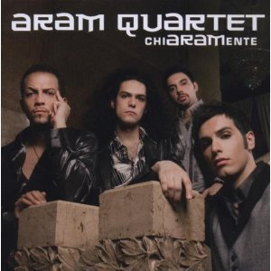 ARAM QUARTET - CHIARAMENTE -SLIDERS (CD)