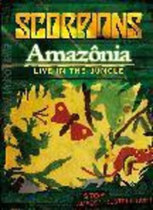 SCORPIONS AMAZONIA - LIVE IN THE JUNGLE (DVD)
