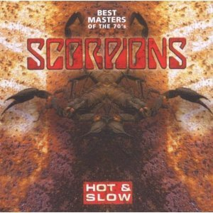 SCORPIONS - HOT & SLOW BEST MASTERS OF THE 70S (CD)