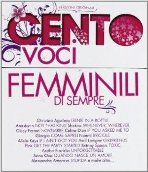 CENTO VOCI FEMMINILI -5CD (CD)