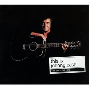 JOHNNY CASH - THIS IS -THE MAN IN BLACK (CD)
