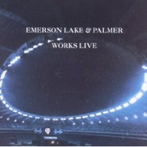 E.L.P. - WORKS LIVE -2CD (CD)