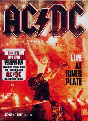 AC/DC - LIVE AT RIVER PLATE (DVD+ T-SHIRT) (DVD)