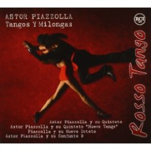 ASTOR PIAZZOLLA - ROSSO TANGO -3CD (CD)