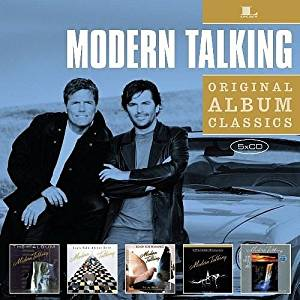 MODERN TALKING - ORIGINAL ALBUM CLASSICS (5 CD) (CD)
