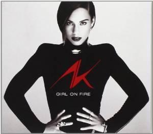 ALICIA KEYS - GIRL ON FIRE (CD)