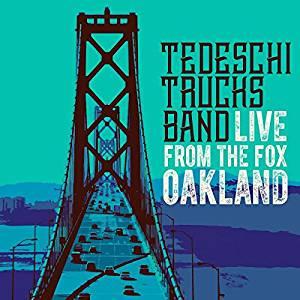 TEDESCHI TRUCKS BAND - LIVE FROM THE FOX OAKLAND CD, CD+DVD (CD)