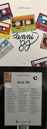 ANNI 80 GRANDI SUCCESSI -3CD (CD)