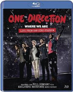 ONE DIRECTION - ONE DIRECTION. WHERE WE ARE. LIVE FROM SAN SIRO