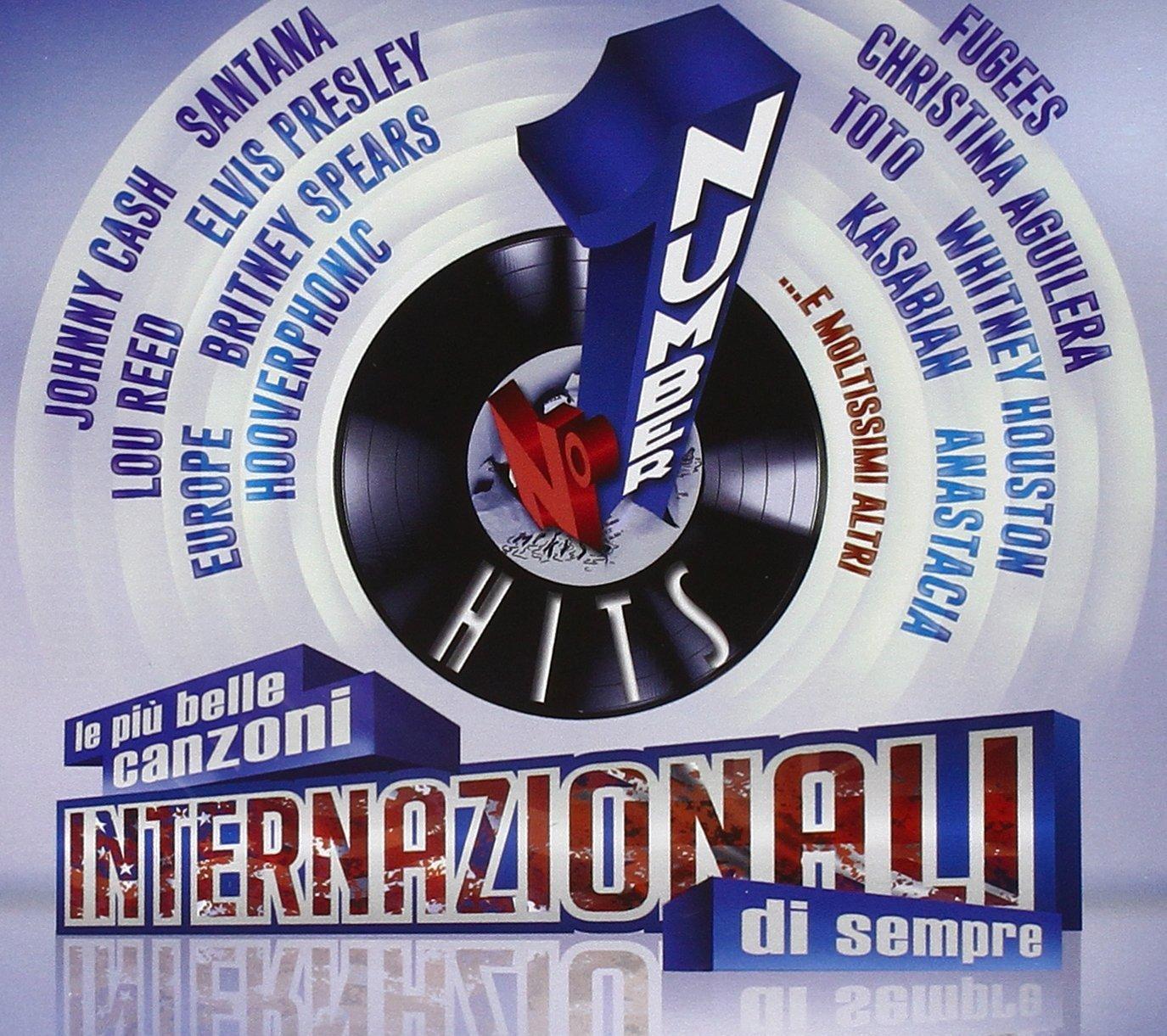 I NUMERI 1 - LE PIU BELLE CANZONI INTERNAZIONALI DI SEMPRE -4CD