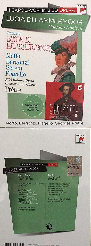 GAETANO DONIZETTI - LUCIA DI LAMMERMOOR (3 CD) (CD)