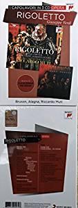 VERDI: RIGOLETTO - I CAPOLAVORI IN 3 CD (CD)
