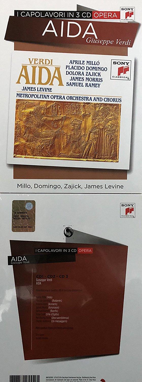 GIUSEPPE VERDI - AIDA - DOMINGO, RAMEY, LEVINE (3 CD) (CD)