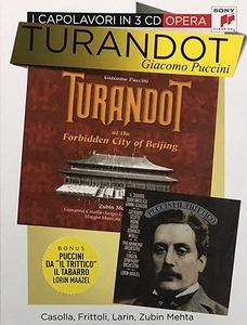 PUCCINI: TURANDOT - I CAPOLAVORI IN 3 CD (CD)