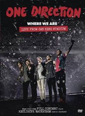 ONE DIRECTION - WHERE WE ARE. LIVE FROM SAN SIRO STADIUM (DVD)