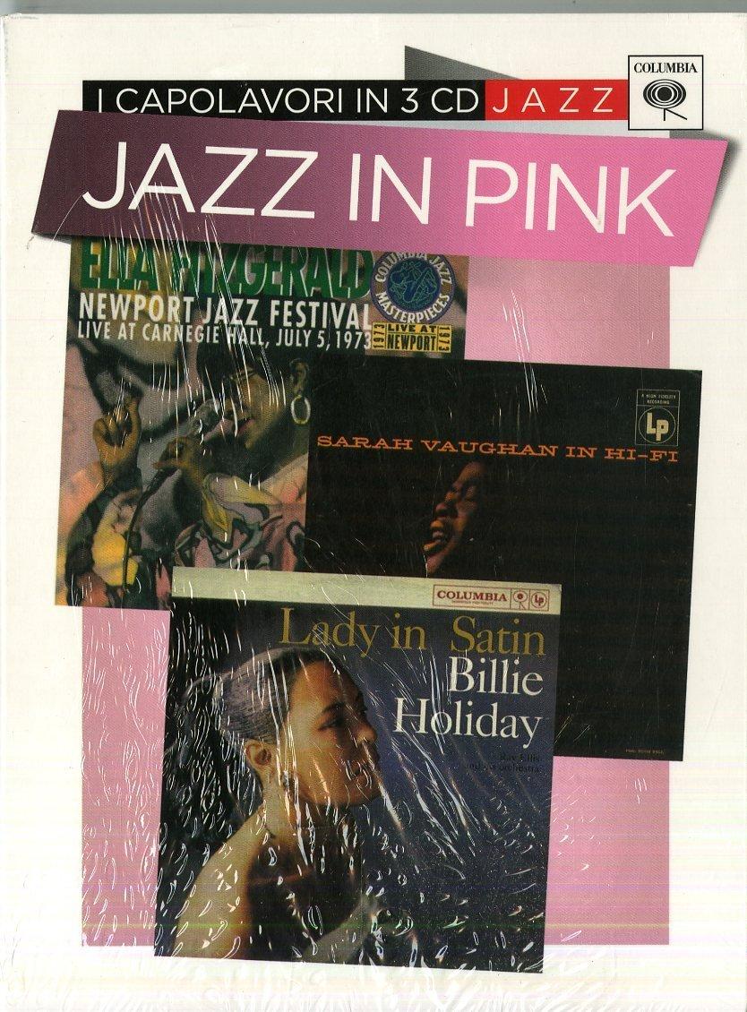 BILLIE HOLIDAY - LADY IN SATIN, IN HI FI, NEWPORT JAZZ FEST - JAZZ IN PINK -3CD (CD)