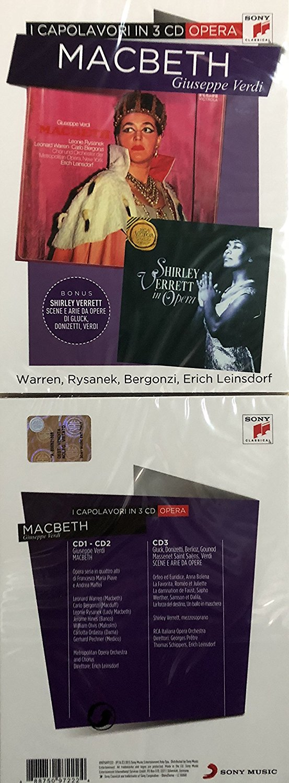 MACBETH I CAPOLAVORI IN 3 CD (CD)