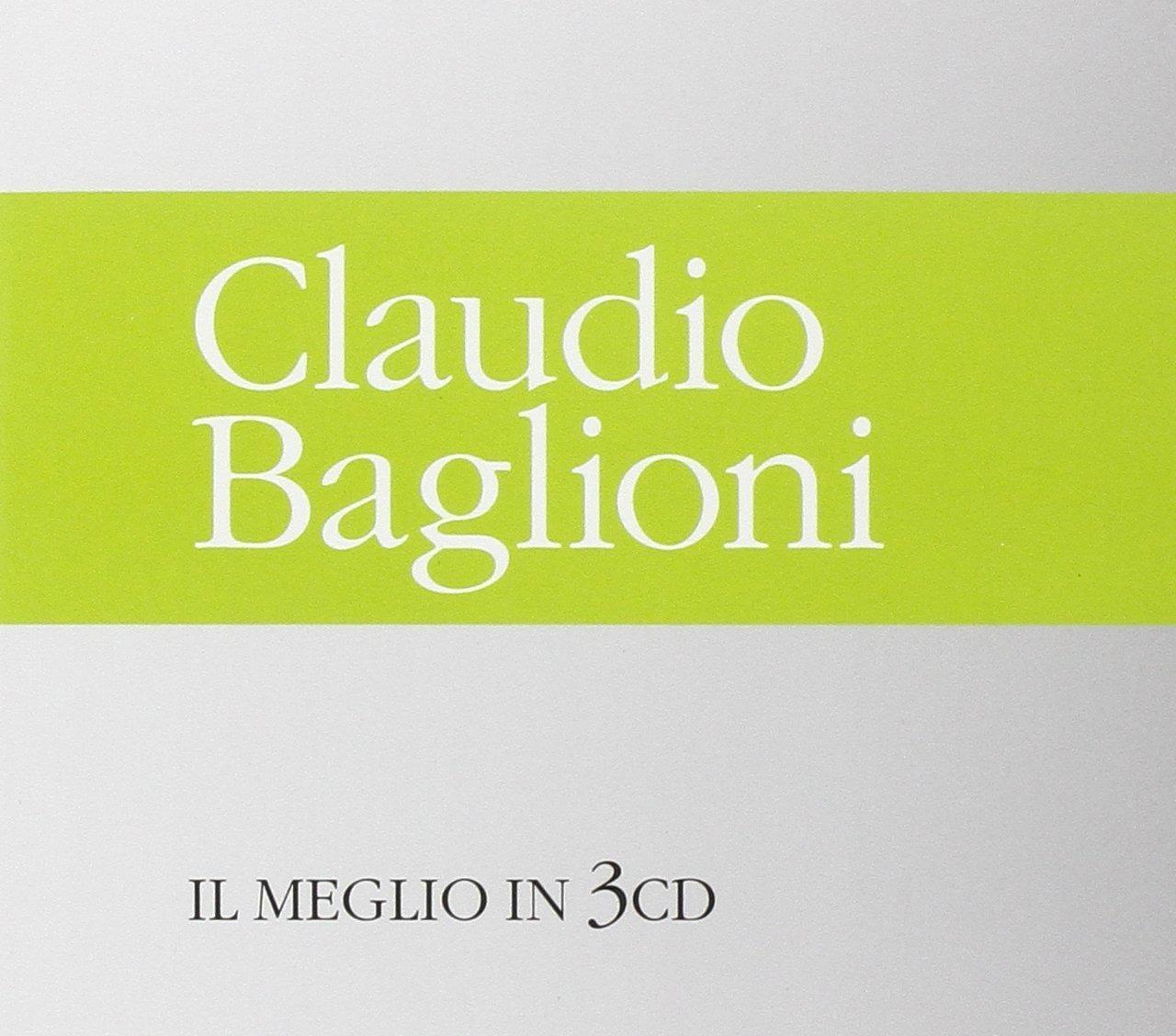 CLAUDIO BAGLIONI - IL MEGLIO IN 3CD (CD)
