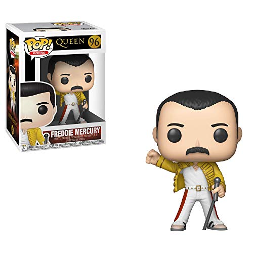 FUNKO POP! ROCKS: QUEEN - FREDDY MERCURY WEMBLEY 1986