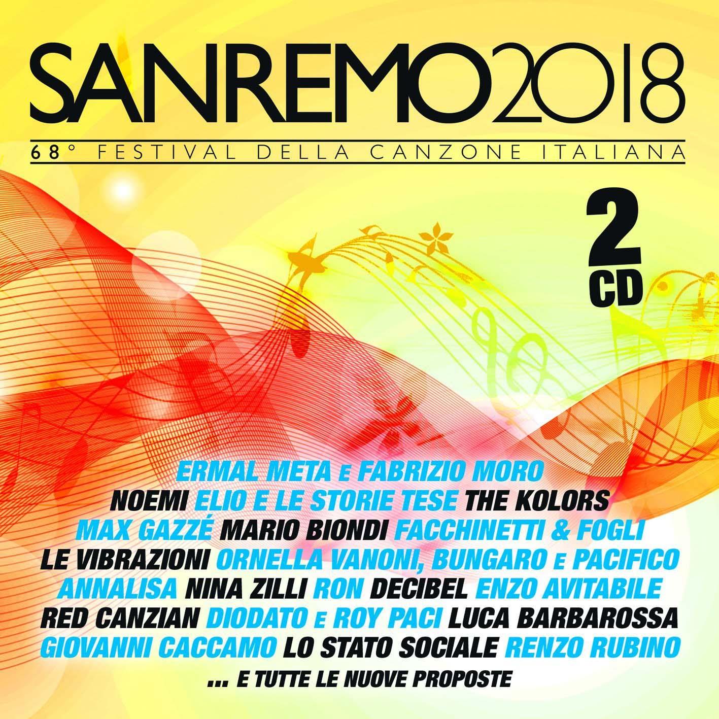 SANREMO 2018 (CD)