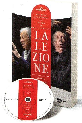 COF.GIORGIO ALBERTAZZI / DARIO FO - LEZIONE (LA). STORIE DEL TEATRO IN ITALIA (4 DVD+LIBRO) (DVD)
