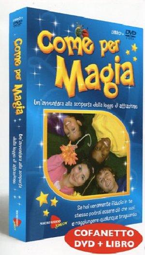 COME PER MAGIA (PAMELA PEDDER) (LIBRO+DVD) (ESENTE IVA) (DVD)